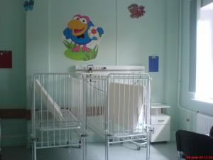 Палата в отделении КИТ Филатовской больницы