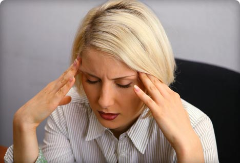 Хронические мигрени вызывают сердечный приступ
