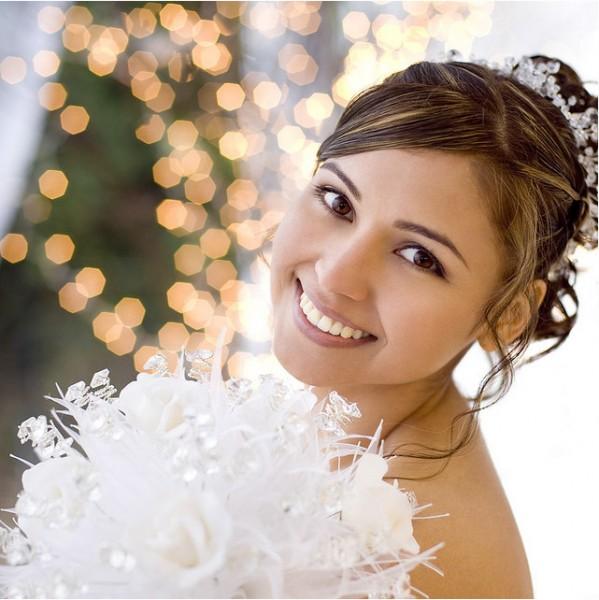Белоснежная улыбка на свадьбе