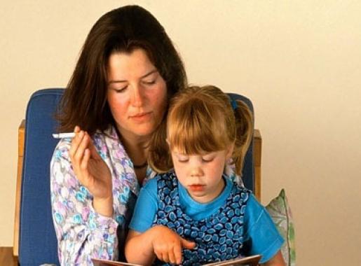 Пассивное курение влияет на артериальное давление детей