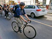 Привычка передвигаться по городу на велосипеде может довести до сердечного приступа