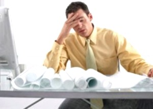 Сердечные недуги появляются при напряженной работе в офисе