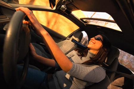 Женское здоровье и автомобиль