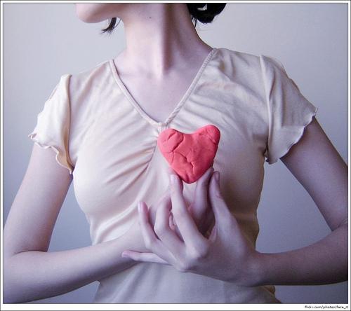«Сердце женщины бьется иначе!»