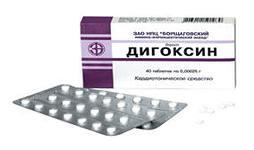 Дигоксин сочли опасным для больных с мерцательной аритмией