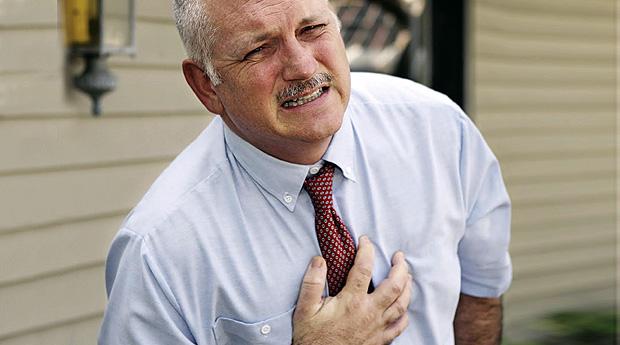 Боль в груди. Первая помощь.