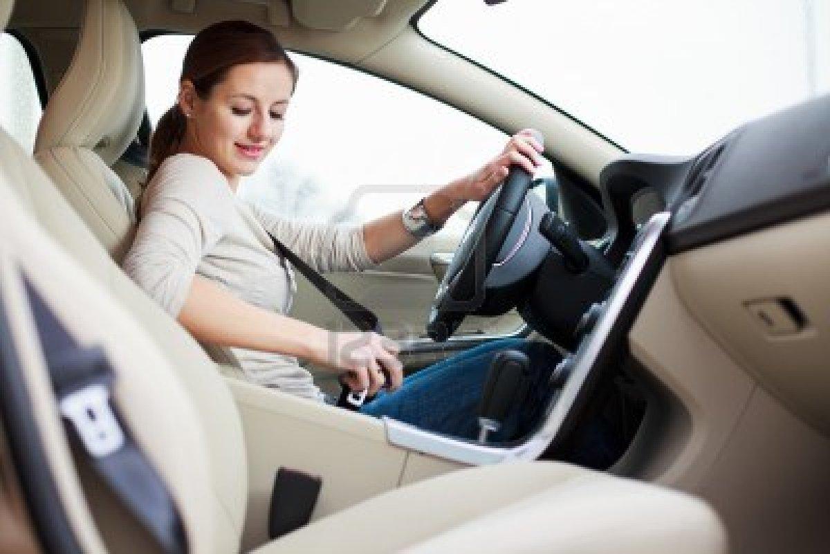 Женское здоровье в автомобиле