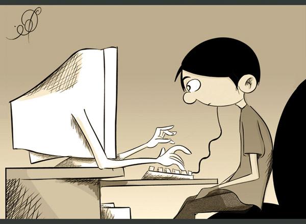 Вредно ли работать за компьютером?