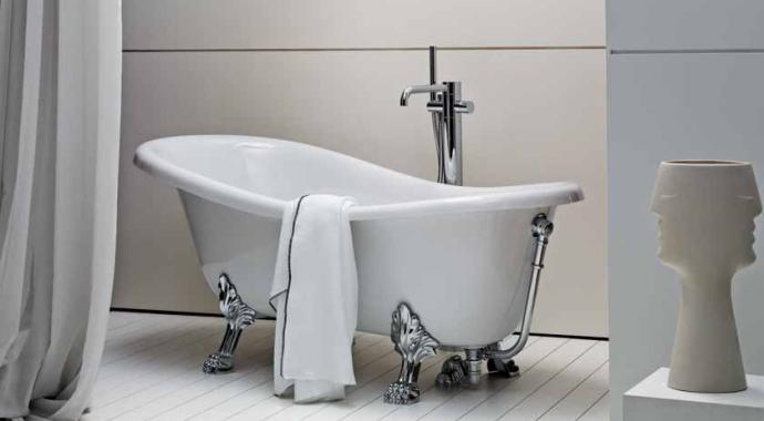 Современная мебель и сантехника  для ванной комнаты