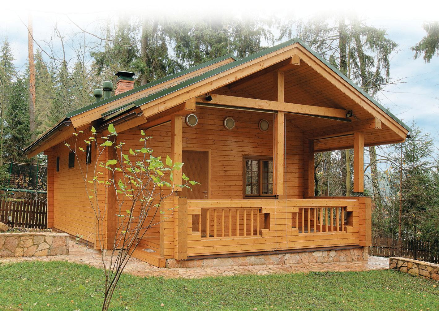 Деревянный дом – стильно, уютно и практично!