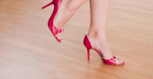 Беременность на каблуках?
