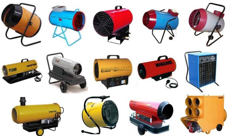 Эксплуатационные особенности электрических тепловых пушек