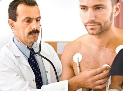 Сбор сведений о развитии заболевания и осмотр при снижении частоты сердечных сокращений (брадикардии)