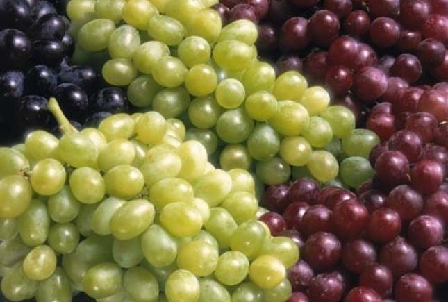 Виноград защищает от диабета и сердечных болезней