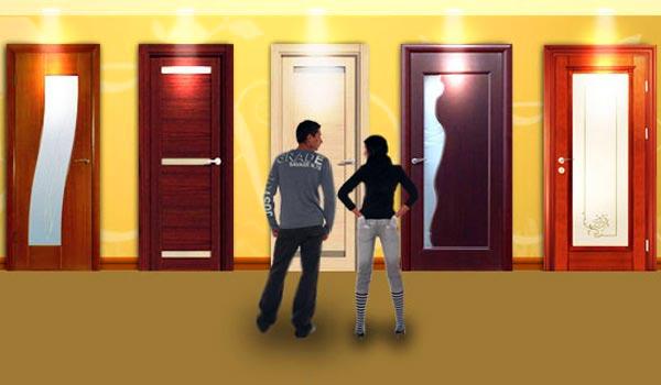 Особенности монтажа дверей внутри помещения