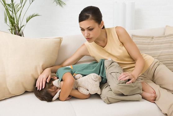 Боли в животике у детей