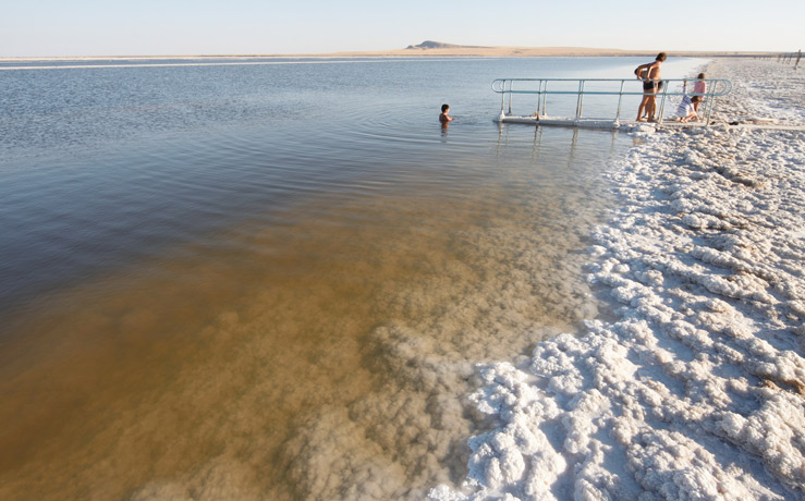 Крупнейшие соленые озера мира