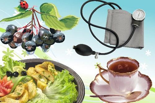 Особенности питания при гипотонии