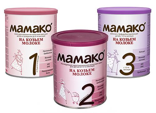 Компания «МАМАКО» – молочные смеси на основе козьего молока для малышей любого возраста по доступной цене