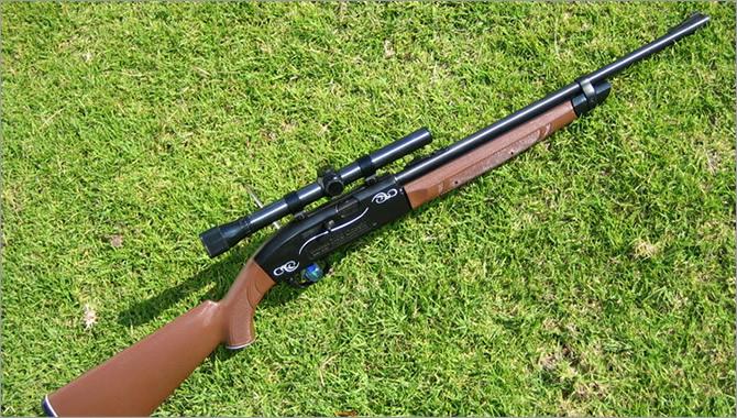 Краткий обзор пневматической винтовки Crosman 2100B.