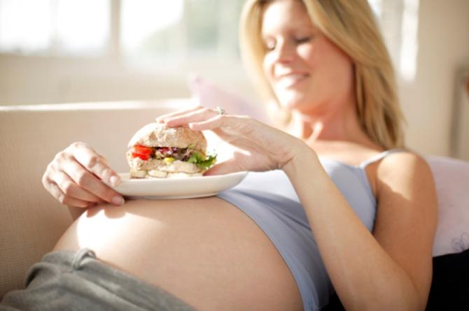 Лишние килограммы в период вынашивания ребенка