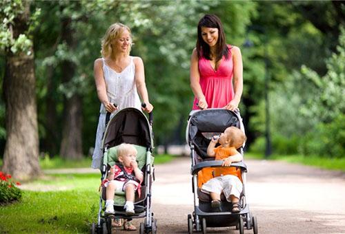 Выбор детской коляски и покупка