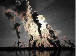 Загрязненный воздух приводит к остановке сердца