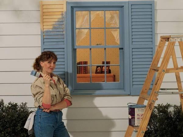 Последовательность работ по покраске фасада дома