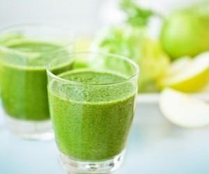Зеленые смузи для снижения давления и очищения почек