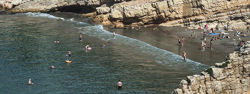 Отдых для детей на побережье Коста Даурада и землях дельты реки Эбре. Каталония, Испания.