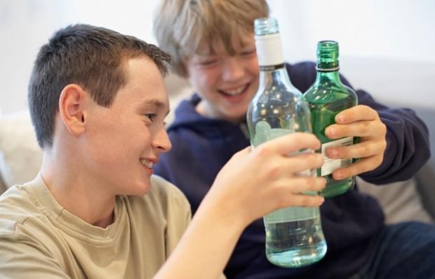 Если подросток употребляет алкоголь