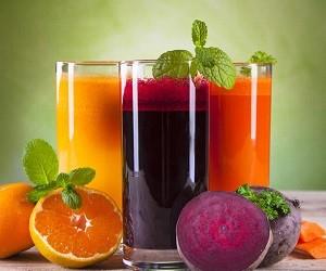 3 рецепта из соков для нормализации давления и похудения!