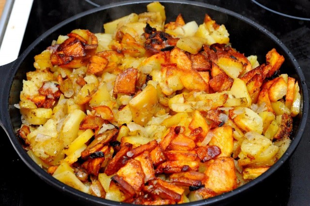 Жареная картошечка убивает сердце
