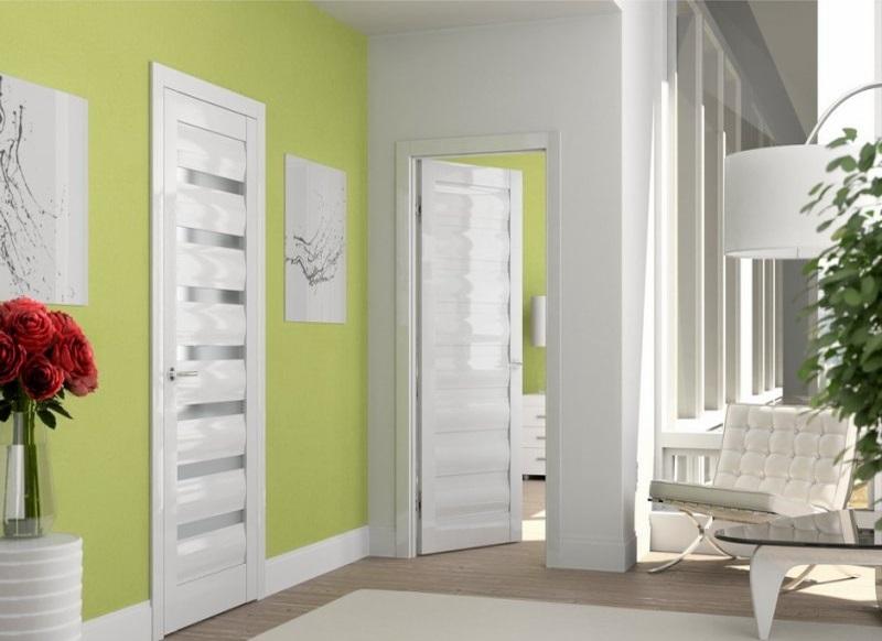 Межкомнатная дверь — в комплекте