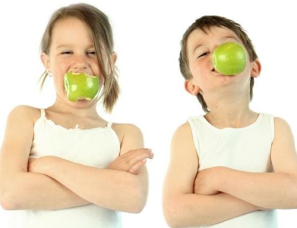 Продукты для здоровых детских зубов