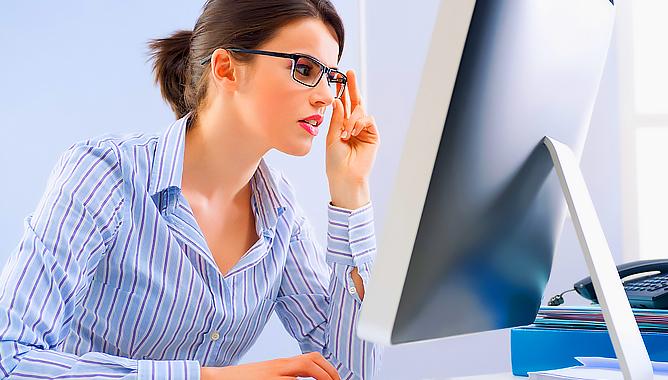 Компьютерные очки: защитим глаза