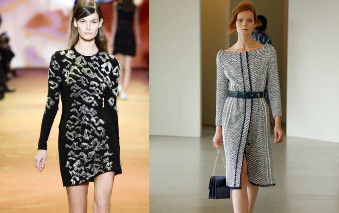 Стильные женские платья: выбираем модели с рукавом