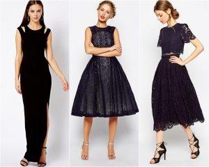 Черное убранство – элегантно и современно