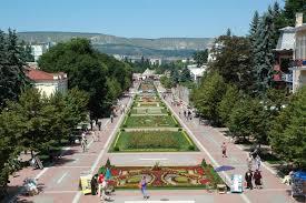 Туристическое описание города Кисловодск