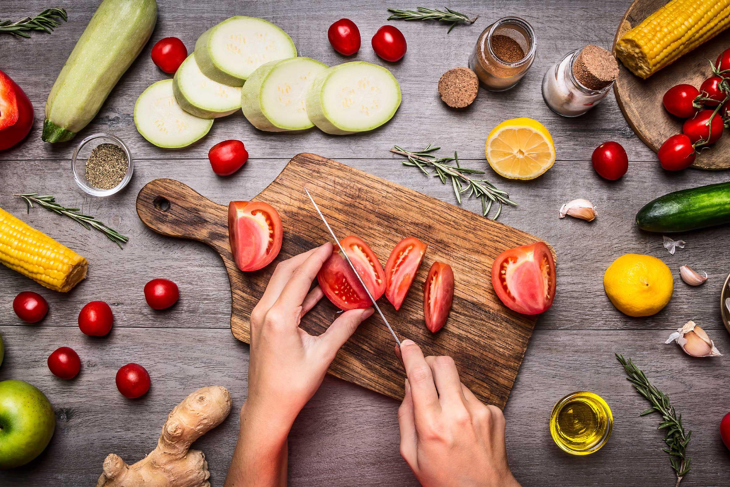 Вегетарианская диета может защитить от рака и болезней сердца