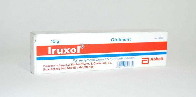 Ируксол антибактериальное средство, лучшее для регенерации кожи