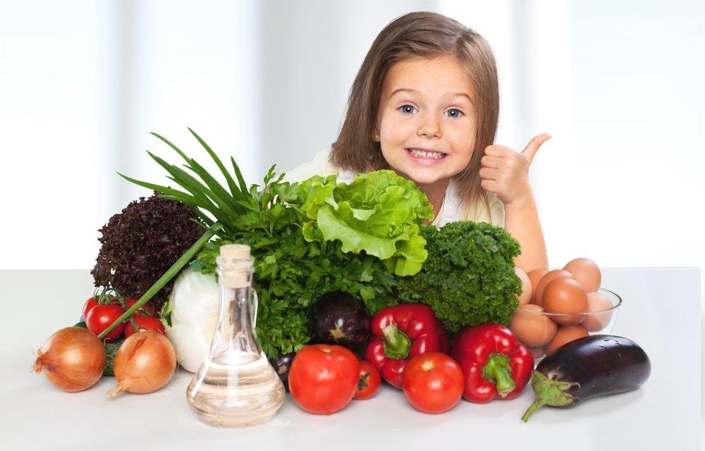 Продукты, полезные для зубов ребенка