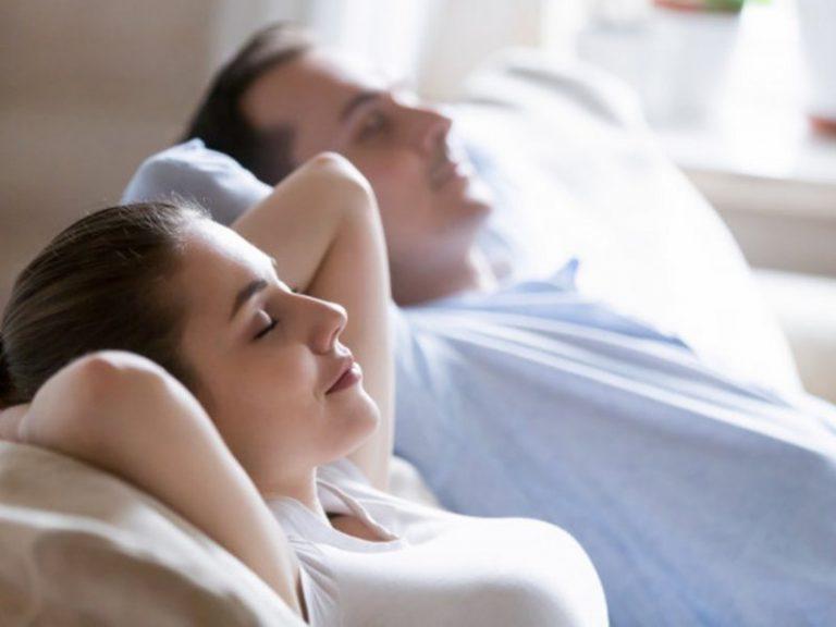 Мысль о любимом партнере снижает давление