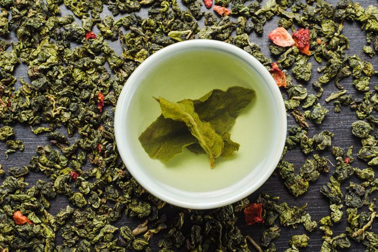 Удивительный зеленый чай улун