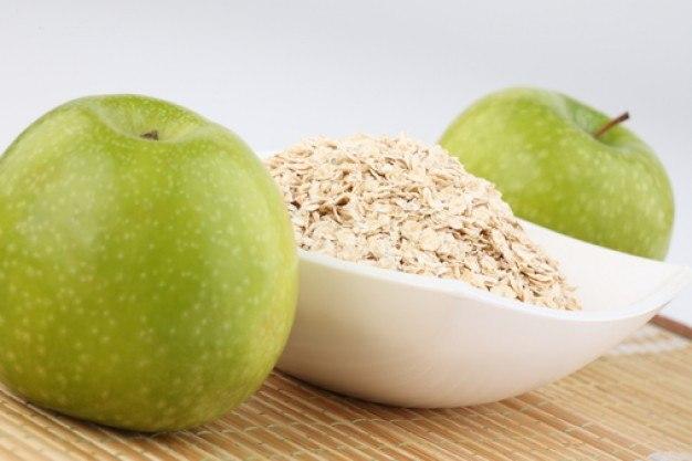 Овсянка и яблоки для здоровья сердца