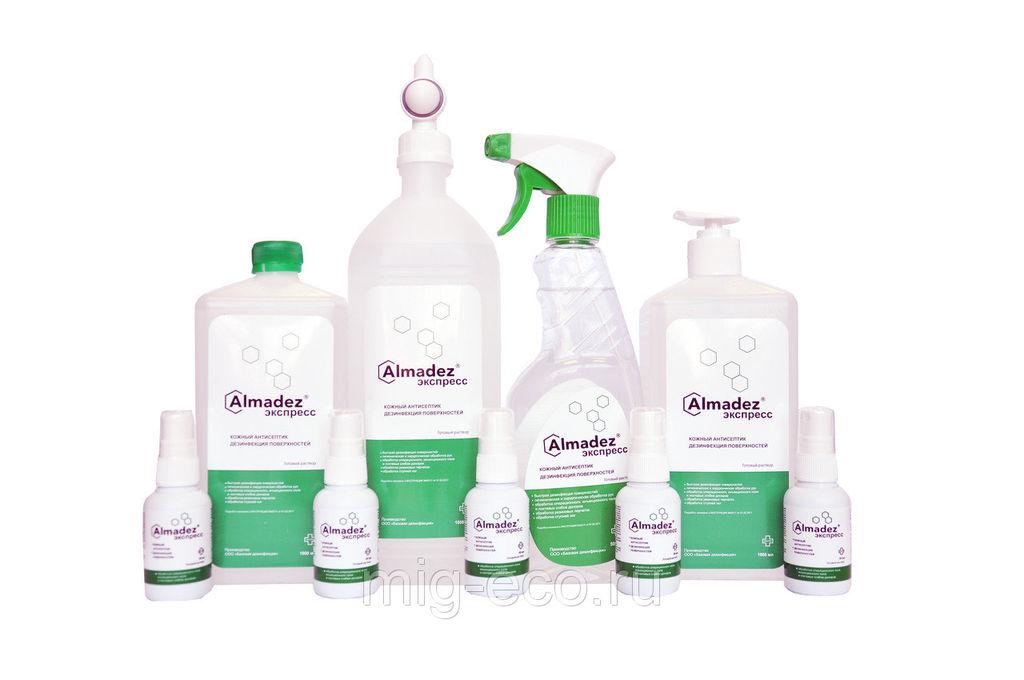 «Алмадез» — оптимальный выбор для дезинфекции!