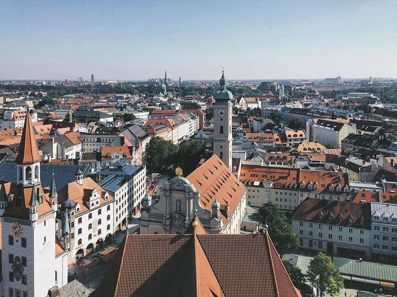 Мюнхен – крупнейший город юга Германии
