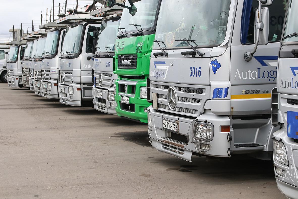 Активное использование грузовиков