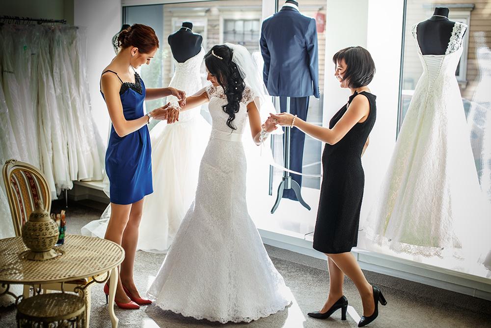 Выбираем свадебное платье в зависимости от типа фигуры