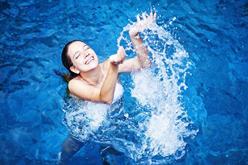 Гидротерапия — нормализует артериальное давление и обмен веществ